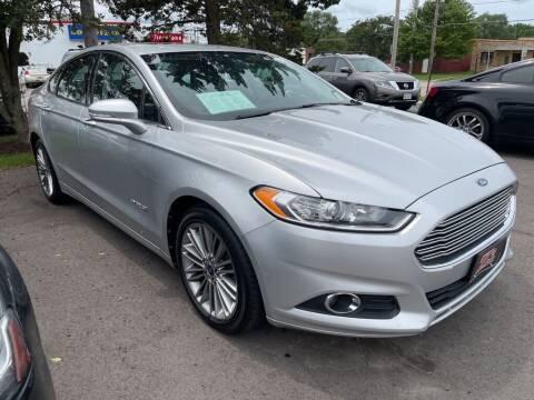 2013 Ford Fusion Hybrid for sale at Zs Auto Sales Burlington in Burlington WI