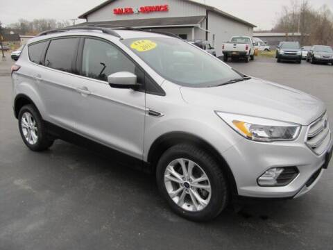 2018 Ford Escape for sale at Thompson Motors LLC in Attica NY