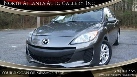2012 Mazda MAZDA3 for sale at North Atlanta Auto Gallery, Inc in Alpharetta GA