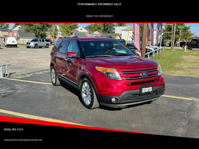 2013 Ford Explorer for sale at PERFORMANCE PREOWNED SALES in Conroe TX