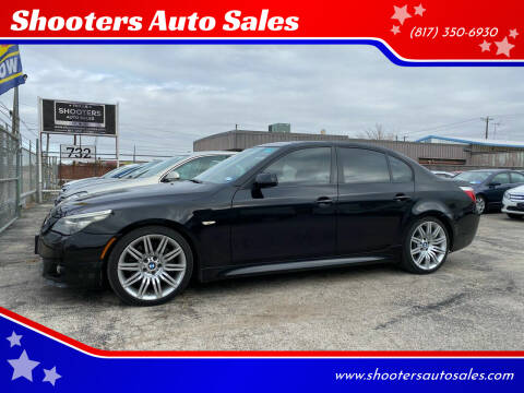 2008 BMW 5 Series for sale at Shooters Auto Sales in Fort Worth TX