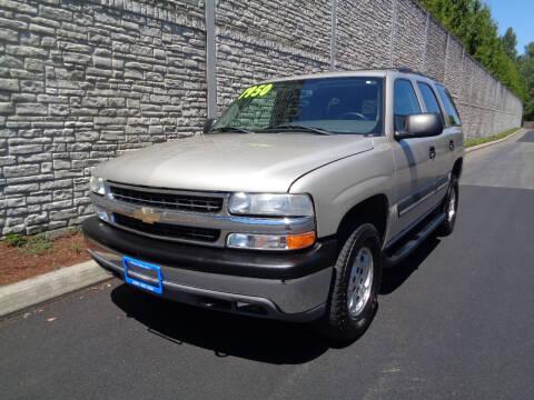 2005 Chevrolet Tahoe for sale at Matthews Motors LLC in Algona WA