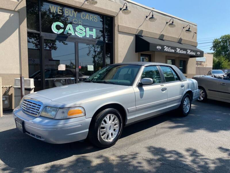 2003 Ford Crown Victoria for sale at Wilson-Maturo Motors in New Haven CT