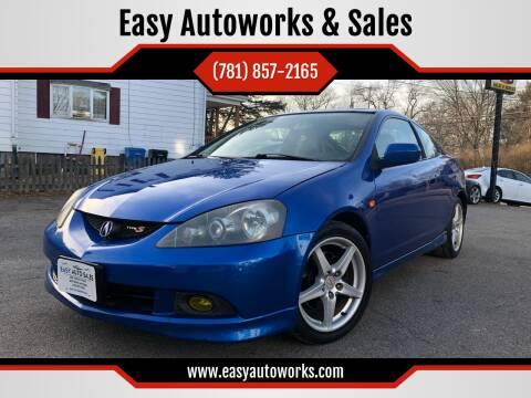 2005 Acura RSX for sale at Easy Autoworks & Sales in Whitman MA