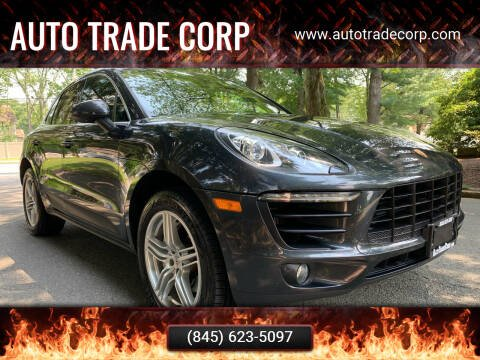 2017 Porsche Macan for sale at AUTO TRADE CORP in Nanuet NY