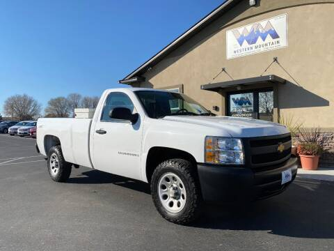 2007 Chevrolet Silverado 1500 for sale at Western Mountain Bus & Auto Sales in Nampa ID