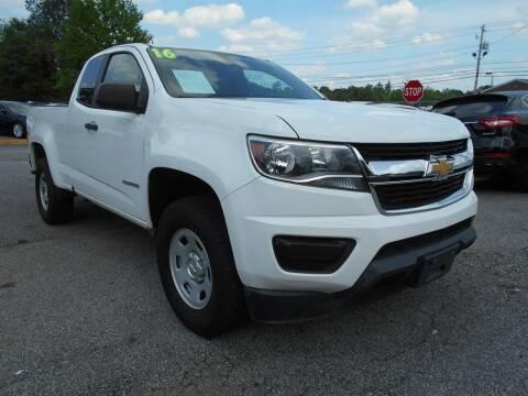 2016 Chevrolet Colorado for sale at AutoStar Norcross in Norcross GA