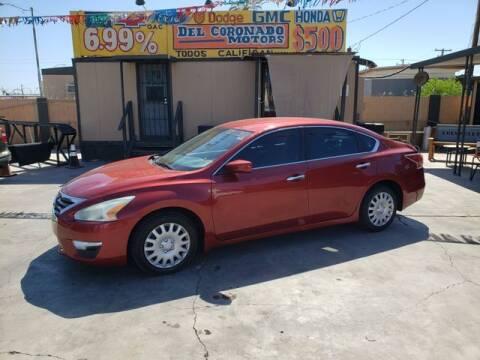2015 Nissan Altima for sale at DEL CORONADO MOTORS in Phoenix AZ