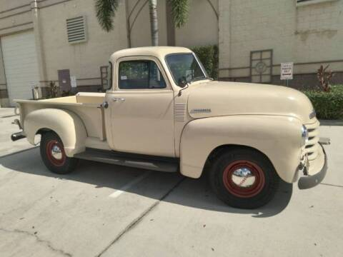 1952 Chevrolet C/K 20 Series for sale at Classic Car Deals in Cadillac MI