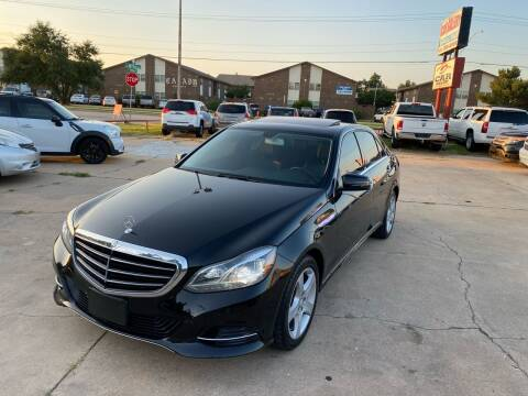 2014 Mercedes-Benz E-Class for sale at Car Gallery in Oklahoma City OK