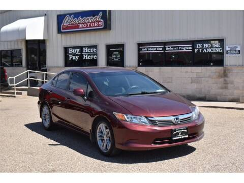 2012 Honda Civic for sale at Chaparral Motors in Lubbock TX