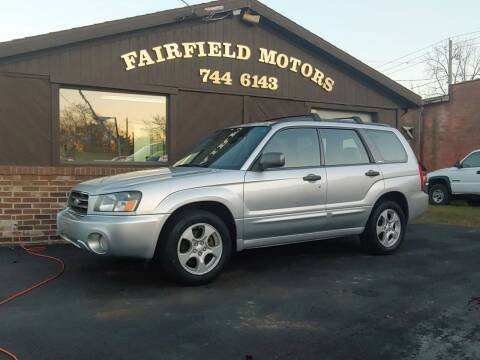 2003 Subaru Forester for sale at Fairfield Motors in Fort Wayne IN