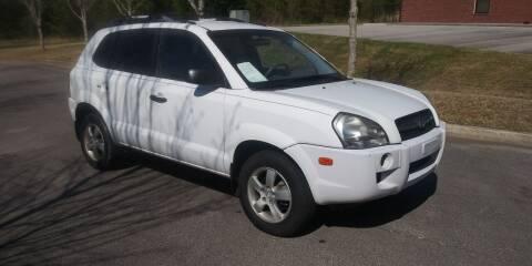 2006 Hyundai Tucson for sale at Georgia Fine Motors Inc. in Buford GA