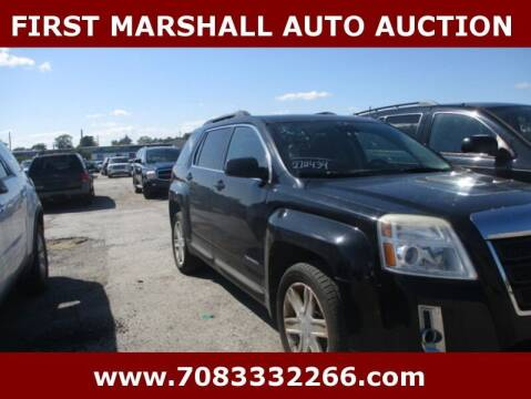 2012 GMC Terrain for sale at First Marshall Auto Auction in Harvey IL