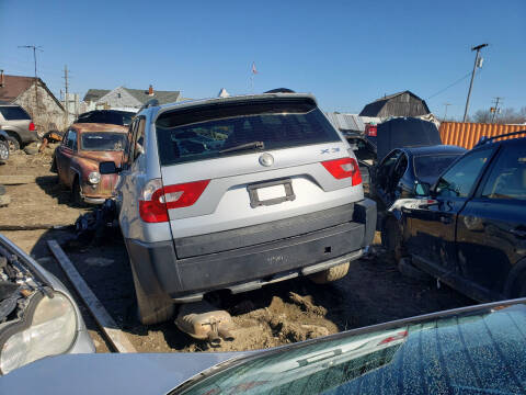 2006 BMW X3 for sale at EHE Auto Sales Parts Cars in Marine City MI