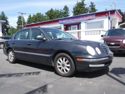 2006 Kia Amanti for sale at 777 Auto Sales and Service in Tacoma WA