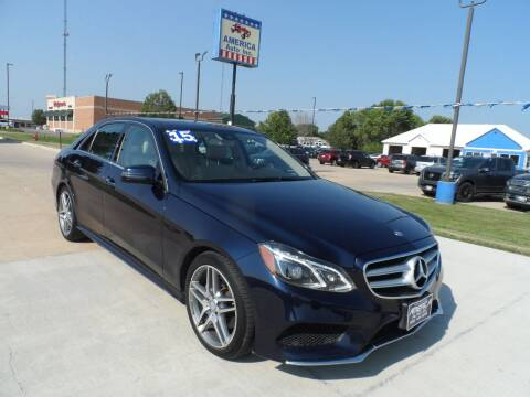 2015 Mercedes-Benz E-Class for sale at America Auto Inc in South Sioux City NE