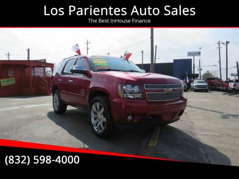 2012 Chevrolet Tahoe for sale at Los Parientes Auto Sales in Houston TX
