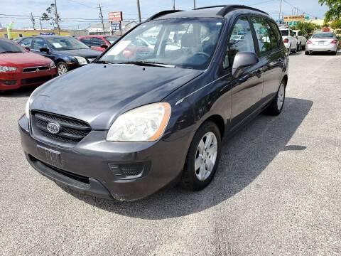 2008 Kia Rondo for sale at Jamrock Auto Sales of Panama City in Panama City FL