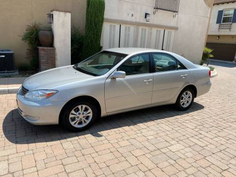 2004 Toyota Camry for sale at California Motor Cars in Covina CA