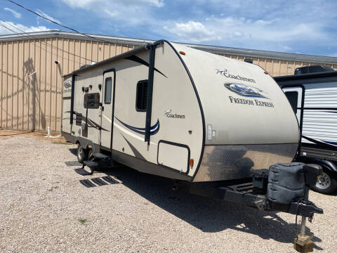 2016 Forest River freedom express 248rbs for sale at ROGERS RV in Burnet TX