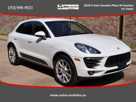2015 Porsche Macan for sale at AUTOS-MOBILES in Houston TX