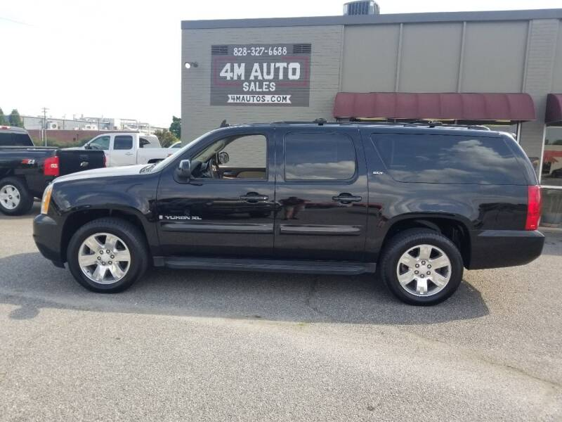 2007 GMC Yukon XL for sale at 4M Auto Sales   828-327-6688   4Mautos.com in Hickory NC