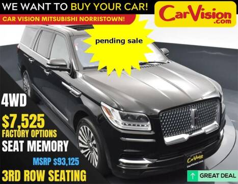 2018 Lincoln Navigator L for sale at Car Vision Mitsubishi Norristown in Norristown PA