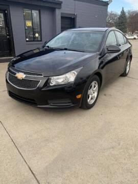 2012 Chevrolet Cruze for sale at Martell Auto Sales Inc in Warren MI