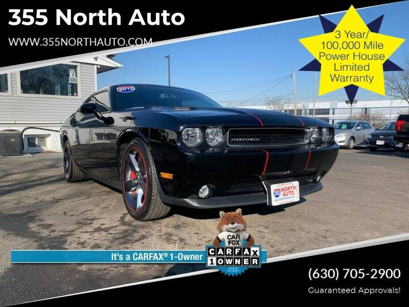 2012 Dodge Challenger for sale at 355 North Auto in Lombard IL