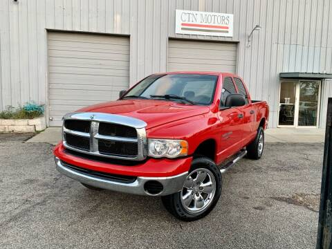 2004 Dodge Ram Pickup 1500 for sale at CTN MOTORS in Houston TX