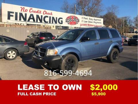 2007 Dodge Durango for sale at Auto Mart USA -Lease To Own in Kansas City MO