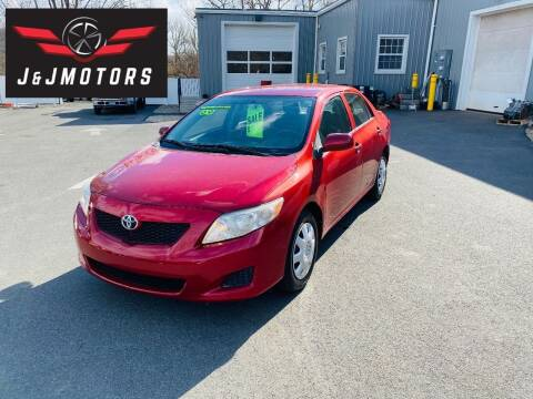2009 Toyota Corolla for sale at J & J MOTORS in New Milford CT