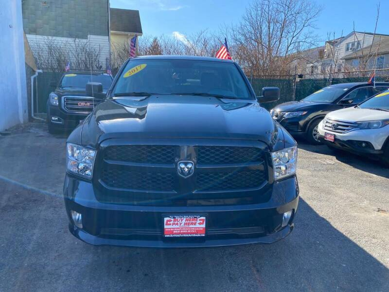 2017 RAM Ram Pickup 1500 for sale at Buy Here Pay Here Auto Sales in Newark NJ