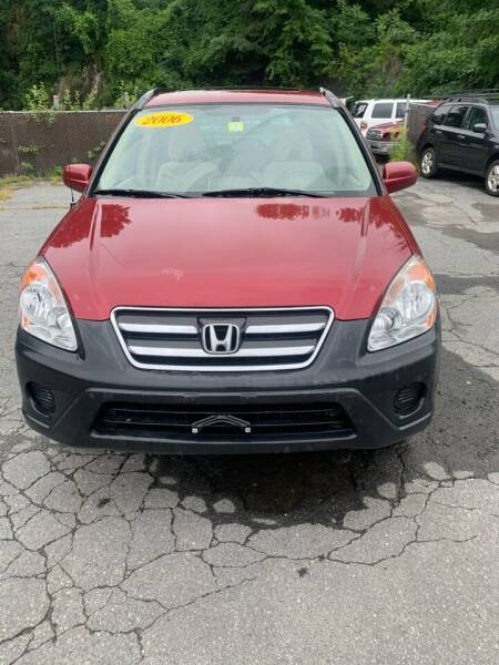 2006 Honda CR-V for sale at ALAN SCOTT AUTO REPAIR in Brattleboro VT