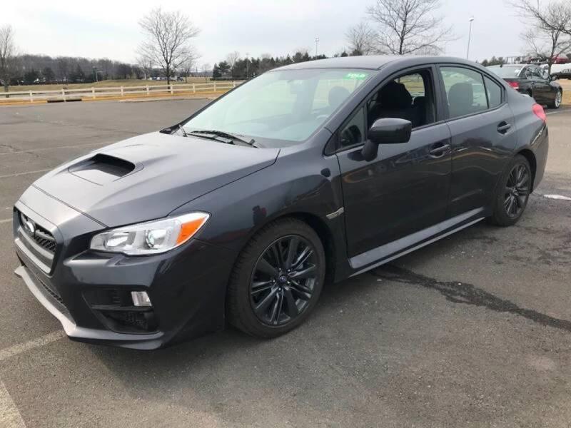 2017 Subaru WRX for sale at SILVER ARROW AUTO SALES CORPORATION in Newark NJ