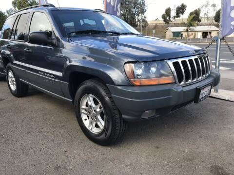 2002 Jeep Grand Cherokee for sale at Beyer Enterprise in San Ysidro CA