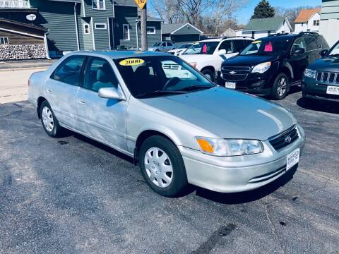 2000 Toyota Camry for sale at SHEFFIELD MOTORS INC in Kenosha WI