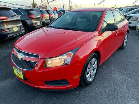 2014 Chevrolet Cruze for sale at Rock Motors LLC in Victoria TX