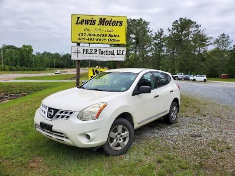 2013 Nissan Rogue for sale at Lewis Motors LLC in Deridder LA