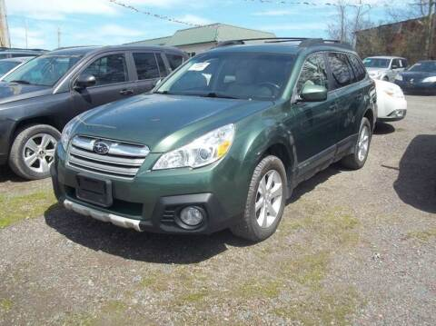 2013 Subaru Outback for sale at Warner's Auto Body of Granville Inc in Granville NY