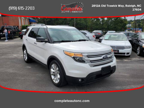 2013 Ford Explorer for sale at Complete Auto Center , Inc in Raleigh NC