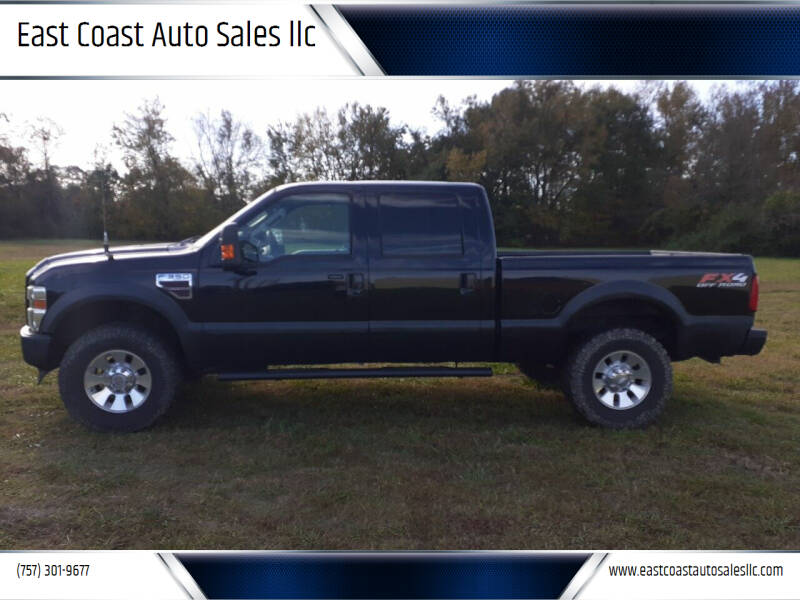 2008 Ford F-350 Super Duty for sale at East Coast Auto Sales llc in Virginia Beach VA