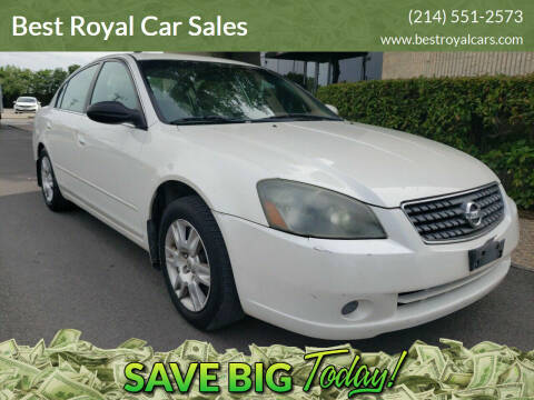 2005 Nissan Altima for sale at Best Royal Car Sales in Dallas TX