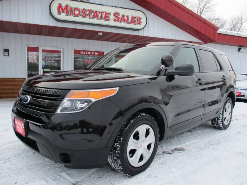 2014 Ford Explorer for sale at Midstate Sales in Foley MN