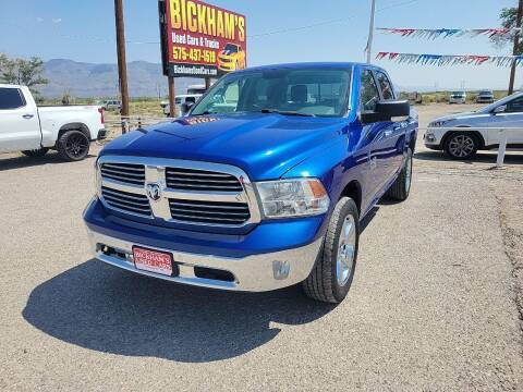2016 RAM Ram Pickup 1500 for sale at Bickham Used Cars in Alamogordo NM