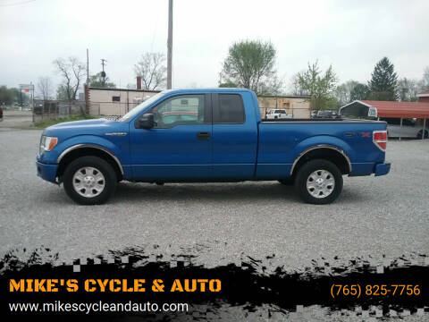 2013 Ford F-150 for sale at MIKE'S CYCLE & AUTO in Connersville IN