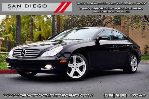 2006 Mercedes-Benz CLS for sale at San Diego Motor Cars LLC in San Diego CA