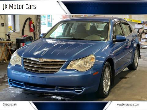 2007 Chrysler Sebring for sale at JK Motor Cars in Pittsburgh PA
