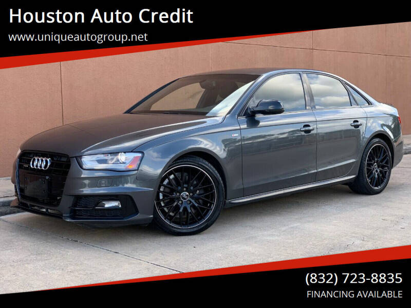 2016 Audi A4 for sale at Houston Auto Credit in Houston TX